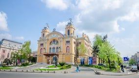 National Theatre in Cluj-Napoca stock video