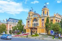 National theatre of Cluj-Napoca, Romania Stock Photo