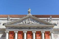 National Theatre Dona Maria II, Lisbon, Portugal Stock Photo