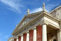 National Theatre Dona Maria II, Lisbon, Portugal Royalty Free Stock Photography