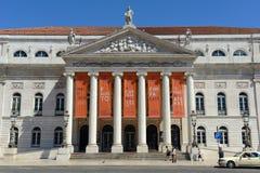 National Theatre Dona Maria II, Lisbon, Portugal Royalty Free Stock Image