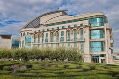 National Theatre of Hungary Royalty Free Stock Image