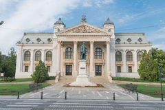 National Theatre from Iasi, Romania Royalty Free Stock Image
