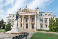 National Theatre from Iasi, Romania-1 Stock Images