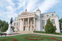 National Theatre from Iasi-2, Romania Royalty Free Stock Image