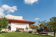National Theatre Ion Luca Caragiale In Bucharest Stock Images