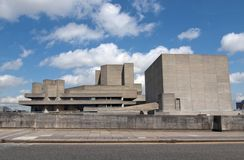 National Theatre, London Stock Photo