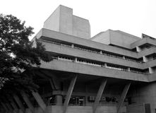 National Theatre, London royalty free stock photo