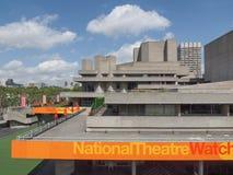 National Theatre London Stock Photo