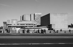 National Theatre in London Royalty Free Stock Photo