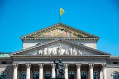 The National Theatre of Munich. Bavaria, Germany Royalty Free Stock Photography