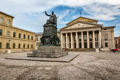 The National Theatre of Munich Royalty Free Stock Images