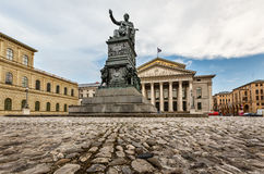 The National Theatre of Munich Stock Photography
