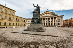The National Theatre of Munich Royalty Free Stock Photos