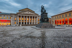The National Theatre of Munich Royalty Free Stock Photo
