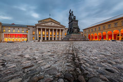 The National Theatre of Munich Royalty Free Stock Image