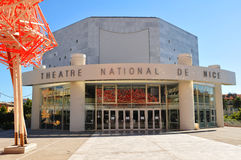 National Theatre in Nice, France Stock Photo