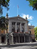 National Theatre, Oslo, Norway. The National Theatre in Oslo (Nationaltheatret in Norwegian) is one of Norway's most prominent venues for the performance of Stock Photography