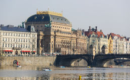 National Theatre in Prague, Czech Republic Royalty Free Stock Photography
