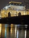 National Theatre in Prague Stock Photos