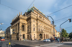 National Theatre in Prague Stock Image