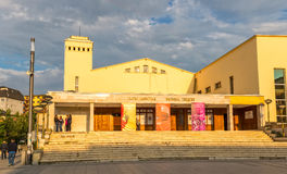 National theatre Pristina Stock Photos