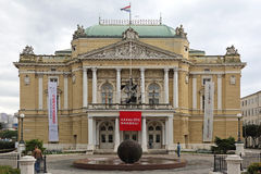 National Theatre Rijeka Royalty Free Stock Image