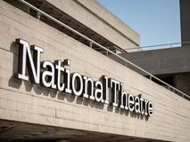 National Theatre, South Bank Centre, London, UK Royalty Free Stock Photos