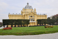 National Theatre in Zagreb, Croatia Royalty Free Stock Photo