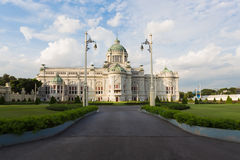 National Throne Hall in Bangkok with blue sky Royalty Free Stock Image