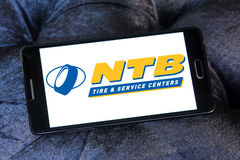 National Tire and Battery, NTB logo Royalty Free Stock Images