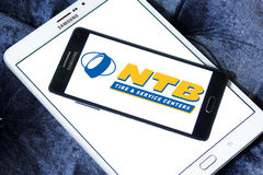 National Tire and Battery, NTB logo Stock Photo