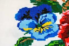 National towel detail Stock Photo