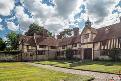 National Trust Ightham Mote -medieval manor house. The National Trust Ightham Mote in Kent UK, is amazing 14th century medieval moated manor house located 6 Stock Image