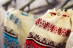 National Ukrainian costumes Royalty Free Stock Photography