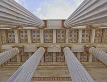 National university of Athens Greece, ceiling of the entrance Royalty Free Stock Images