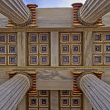National university of Athens, Greece, detail Royalty Free Stock Photo