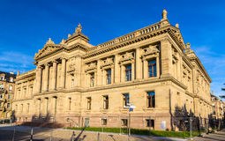 National and University Library of Strasbourg - France Royalty Free Stock Photos