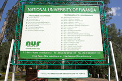National University of Rwanda (NUR) Stock Photography