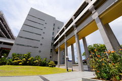 National University of Singapore campus Royalty Free Stock Photography