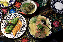 National Uzbek food Royalty Free Stock Images