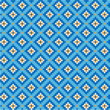 National uzbek pattern Royalty Free Stock Photo