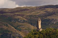 National Wallace Monument royalty free stock photos