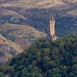National Wallace Monument. On the hill, Stirling, Scotland Royalty Free Stock Photo