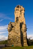 National Wallace Monument. Over blue sky, Stirling, Scotland Stock Images