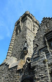 The National Wallace Monument. Generally known as the Wallace Monument is a tower standing on the summit of Abbey Craig, a hilltop overlooking Stirling in Royalty Free Stock Photos