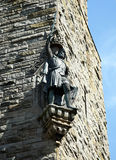 William Wallace Statue. The National Wallace Monument generally known as the Wallace Monument is a tower standing on the summit of Abbey Craig, a hilltop Stock Photo