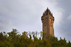 National Wallace monument in Scotland Stock Photos