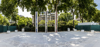 National War Memorial in Algeria, Morocco and Tunisia on the Qua Stock Photo