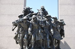 National War Memorial in Ottawa Stock Photo